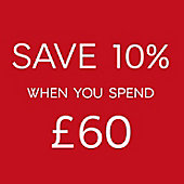 Save 10% when you spend £60 on food to order