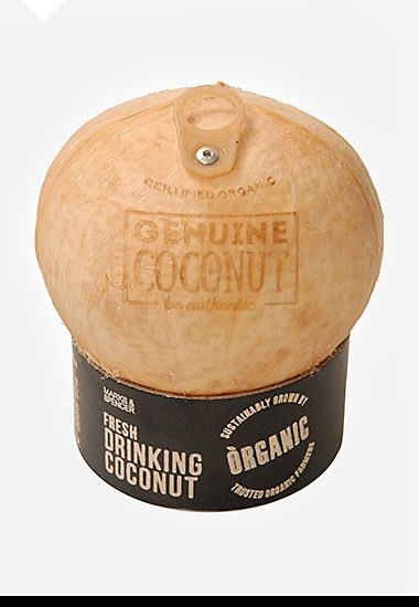 Drinking Coconut packaging, 2014