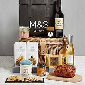 Posh christmas food gift