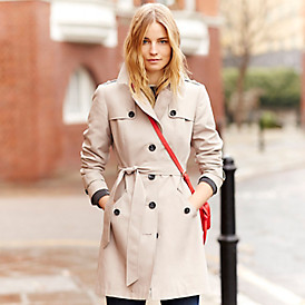 The timeless trench coat