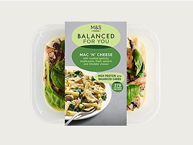 Balanced For You mac 'n' cheese