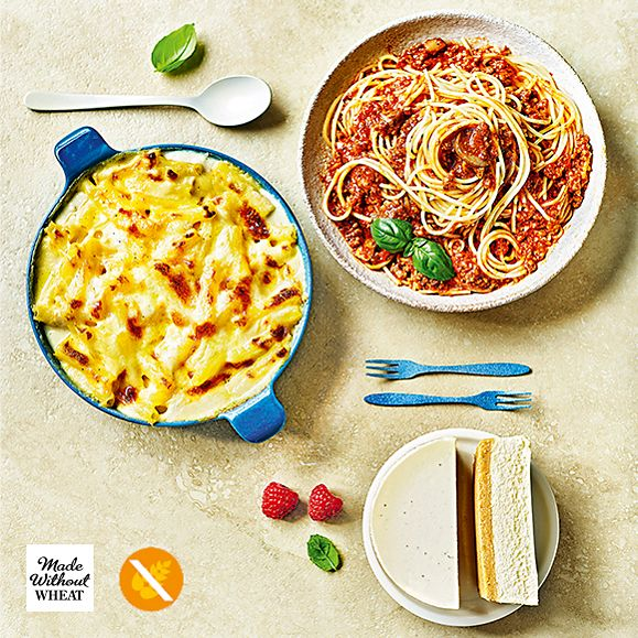 Dishes from the M&S Made Without Wheat range