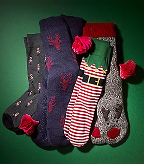 Collection of novelty socks