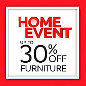 Home Event up to 30% off furniture banner