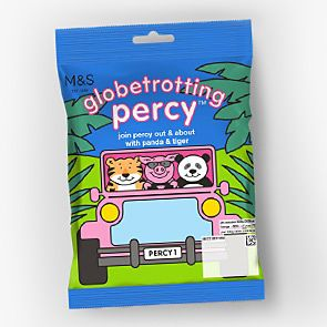 Bag of Globetrotting Percy Pig sweets