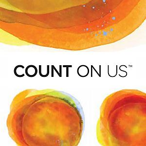 Count On Us brand logo