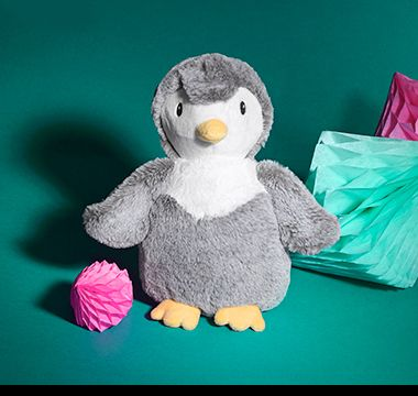 M&S cuddly toy penguin