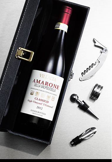 Amarone wine gift set