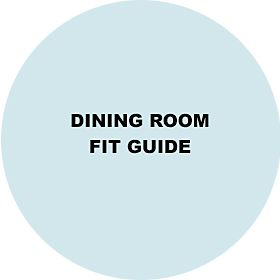 Dining room furniture fit guide