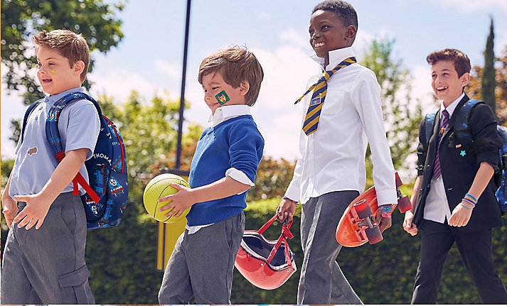 Buy four, save 20% across selected schoolwear