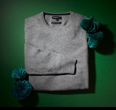 Men's cashmere jumper