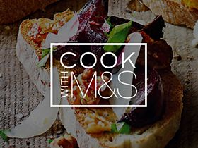 Cook with M&S recipe app