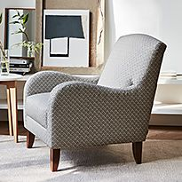 Maiko armchair in living room