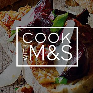 Cook with M&S logo