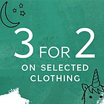 3 for 2 kids clothes deal