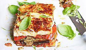 Find our about our meat-free lasagna