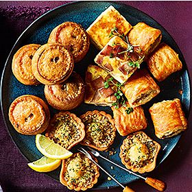 Savoury party bites