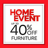 Up to 40% off Furniture