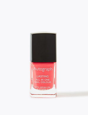 All in One Nail Colour with Argan Oil 11ml | Autograph | M&S