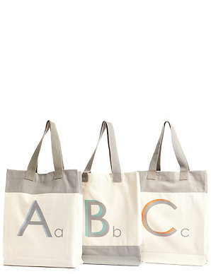 257bfa6b9d Alphabet Tote Bag | M&S
