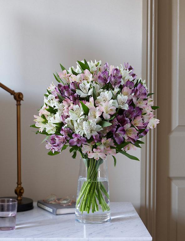 Alstroemeria Abundance Bouquet M S