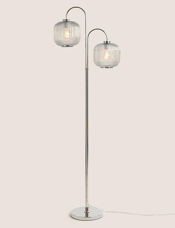 Amelia Ridged Floor Lamp M S