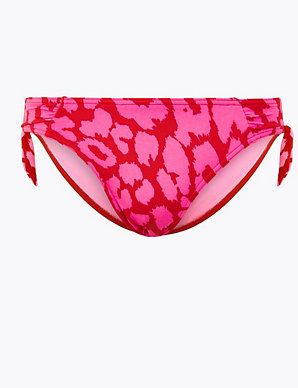 efb2435d825 Animal Print Bikini Bottoms | M&S Collection | M&S