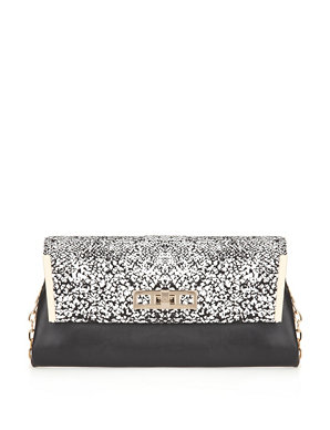 daf8ae44ccb1 Animal Print Envelope Clutch Bag | M&S Collection | M&S
