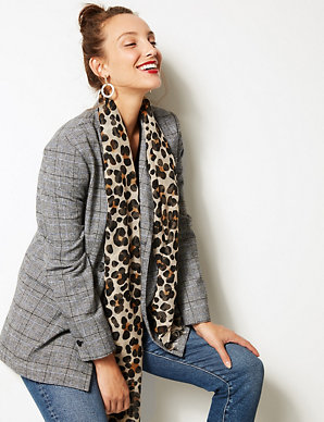 0643d3a454d95 Animal Print Scarf | M&S Collection | M&S