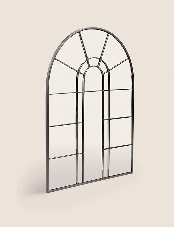Arch Window Mirror M S, Arched Window Pane Mirror Large