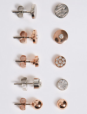 eab150707 Assorted Stud Earrings Set | M&S Collection | M&S