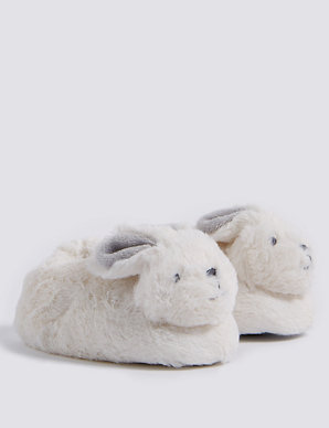 7a4ae053c49 Baby Bunny Rattle Slip-on Shoes