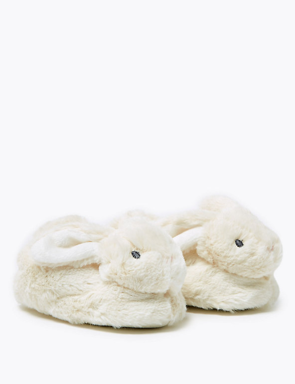 Baby Bunny Slippers 0 18 Mths M S