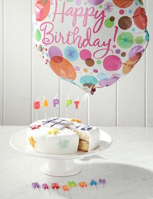Pleasant Balloon Birthday Cake Gift Ms Funny Birthday Cards Online Elaedamsfinfo