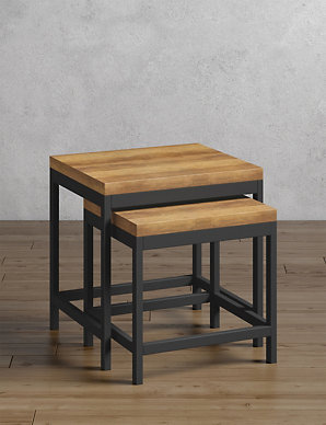 7007617f36 Baltimore Nest of Tables | M&S