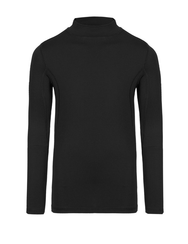 NEW LADIES GIRLS MARKS AND SPENCER BLACK THERMAL BASE LAYER TOP SIZE 6