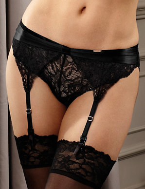 726b31a7961 Beau Silk Suspender Belt