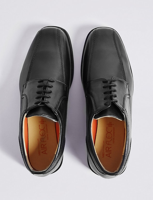 5db3e2680411 Big & Tall Leather Tramline Lace-up Shoes | M&S Collection | M&S