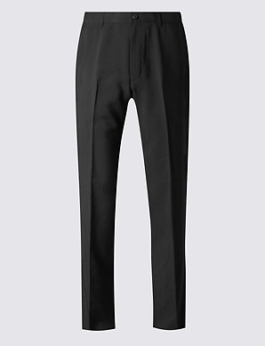 26b151cd0 Big   Tall Regular Fit Flat Front Trousers
