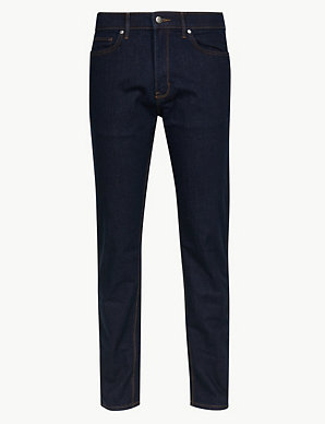 a3a58cbf Big & Tall Tapered Fit Stretch Jeans | M&S Collection | M&S