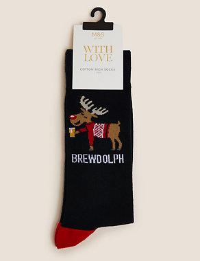Brewdolph Socks