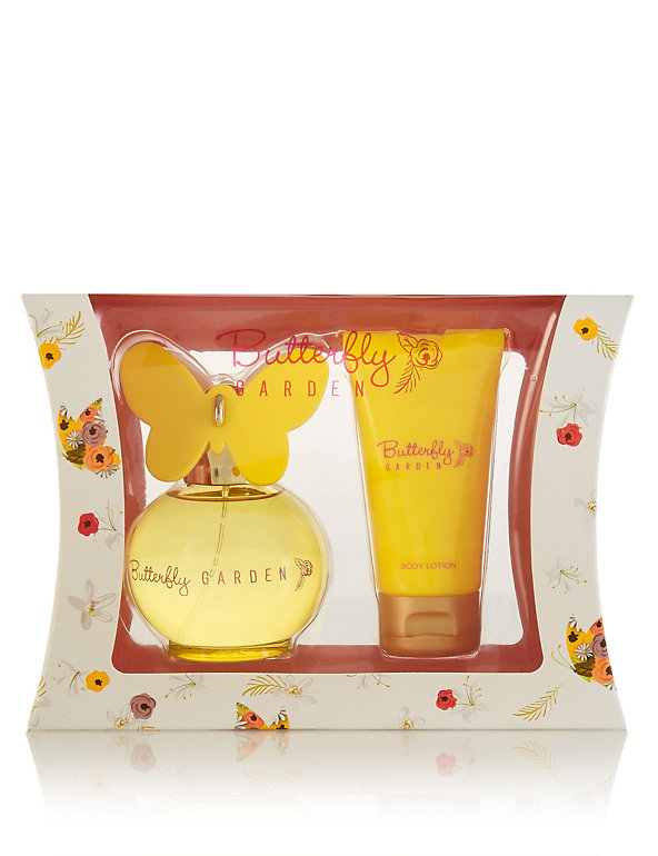 M&S BUTTERFLY GARDEN GIFT SET WOMEN