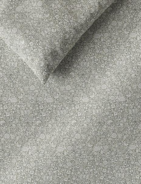 Brushed Cotton Floral Print Bedding Set