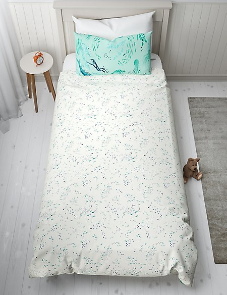 Under the Sea Reversible Bedding Set