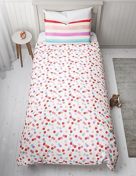 Watercolour Stripe Bedding Set