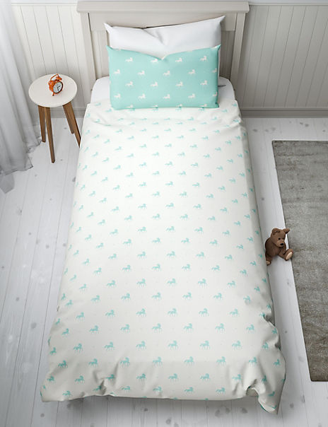 Unicorn Bedroom Set: Unicorn Reversible Bedding Set