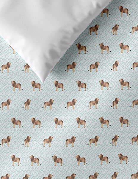 Lion Print Bedding Set