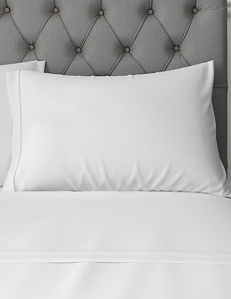 Pure Egyptian Cotton 230 Thread Count Standard Pillowcase with StayNEW™