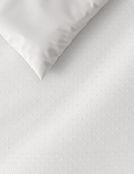 Broderie Edge Cotton Bedding Set