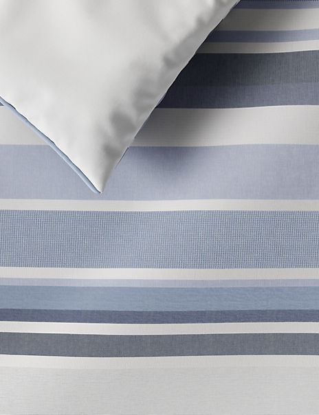 Striped Cotton Bedding Set
